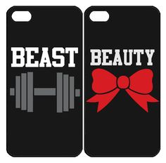 Beauty and Beast  Samsung Galaxy S3 S4 S5 Note 3 case, iPhone 4 4S 5 5s 5c case, iPod Touch 4 5 Couple Case