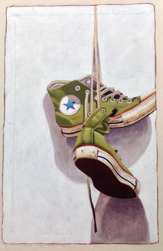 Eisenhauer Gallery of Edgartown, MA Converse Tennis Shoes, Converse All Star, Van Gogh Art, Drawing Journal, Soul Art, Painted Shoes, Contemporary Paintings, Fashion Sketches, Cool Artwork