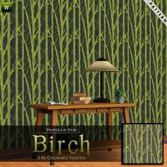 Birch by Vanilla Sim  http://www.thesimsresource.com/downloads/949980