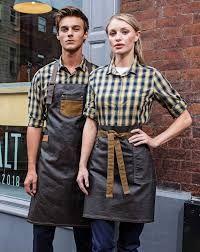 Cafe Uniform, Waiter Uniform, Hotel Uniform, Kellner Uniform, Chef Dress, Jean Apron, Cafe Apron, Staff Uniforms, Waist Apron