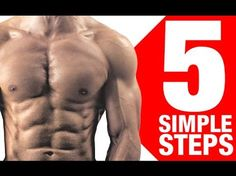 Get SIX PACKS Abs with this 2015 Easy and Powerful Diet at Home!