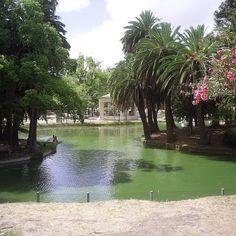 Estanque del Parque Rodo-Montevideo