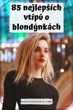Sbírka 85 nejlepších vtipů o blondýnkách podle kategorií: ✅ blondýnky a řízení, v práci, u doktora. ✅ blondýny a policisté, krátké vtipy o blondýnkách, další.. #vtipy #blondynky #oblondynkach