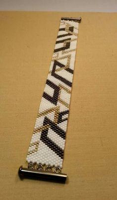 off loom beading Peyote Beading Patterns, Loom Bracelet Patterns, Peyote Stitch Patterns, Bead Loom Bracelets, Peyote Bracelet, Bead Loom Patterns, Loom Beading, Bead Jewellery, Seed Bead Jewelry