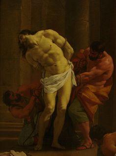 Le christ à la colonne, Simon Vouet, Musée du Louvre by Mr-Pan, via Flickr
