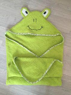 Cape sortie bain grenouille - Les Bricoles d'Anne-Cé - TUTO - Tutoriel