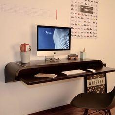 The WallDesk Schreibtisch von Charles & Marie bei ikarus