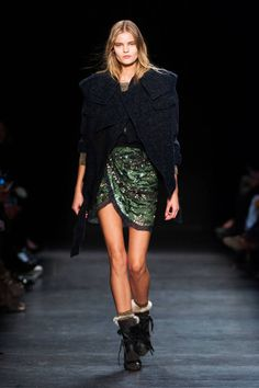 The best Fall 2014 looks from the runways in Paris: Isabel Marant.
