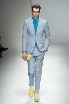 Salvatore Ferragamo Men's S/S '13 | FOLLOW ON :  http://pinterest.com/riccai/style-zero/