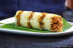 Rinku's Kitchen Treats: Kannur Special Erachi Puttu / Chicken Puttu