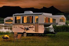 Rockwood Pop Up Campers by Forest River  when we were first married we had a pop-up camper(not this nice)