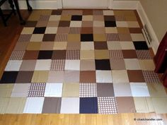 Simple and Easy Quilt idea for Beginners