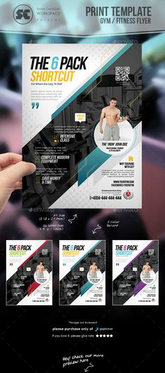 Fitness And Gym Sliders   Designs  Gym Template And Web Banners