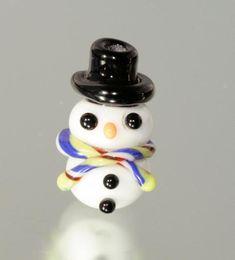 Snowman Tutorial -Free - Lampwork Etc.
