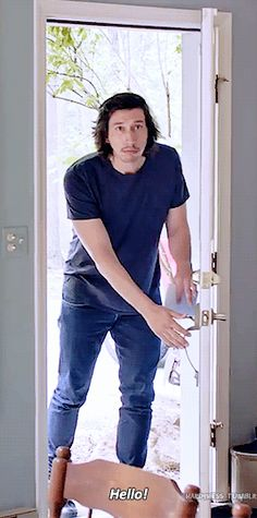 Adam Driver + Greetings