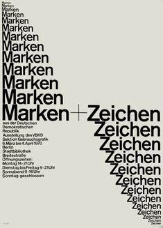 Marken+Zeichen — Horst Wendt (1970)