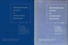 THERMODYNAMIC CHARTS for COMBUSTION PROCESSES PART 1 TEXT, PART 2 CHARTS