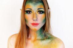 wood fairy / Waldfee inspired Make-up