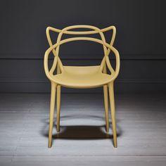 Philippe Stark Mustard Masters Chair  // Graham & Green   #yellow #primroseyellow #yellowvelvet #spring #summer #newcollection #yellowtrend #yellowtheme #homeinteriors #homedecor #interiordesign #myhome #homeinspiration #furniture #furnituredesign #grahamandgreen