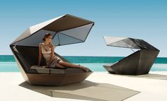 Buy Vondom Faz Daybed online with Houseology's Price Promise. Full Vondom collection with UK & International shipping. Modern Garden Furniture, Furniture Design, Outdoor Furniture, Contemporary Style, Terrasse Design, Outdoor Daybed, Design Jardin, Ocean House, Swimming Pools
