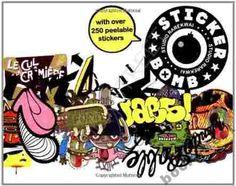 Stickerbomb Studio Rarekwai Paperback Book NEW Buy Stickers, Graffiti Writing, Sticker Bomb, Paperback Books, Art Lessons, New Books, Illustrators, Art Decor, Book Art