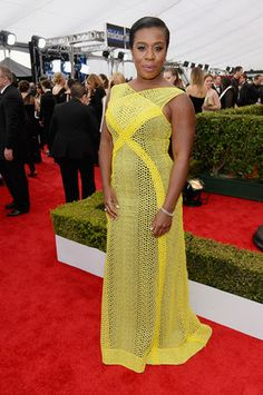 SAG Awards 2015: Uzo Aduba in Angel Sanchez