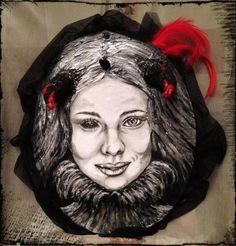 Astaroth - Acrylic on canvas, 3D - Francesca Ruggeri