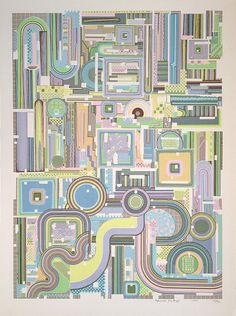 Eduardo Paolozzi  Untitled Composition  (1974)