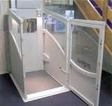 <p>Close attention to the profile of the Wheelchair Lift has allowed us to save valuable space in your home. The wide range of options and available sizes means that your lift can be tailored to meet your individual needs.  The Wheelchair Lift is available with a traction drive system with a capacity of 178kg or a hydraulic drive with a capacity of 230kg.  To help you to be independent, controls have been designed for easier recognition and to be close to hand.</p>