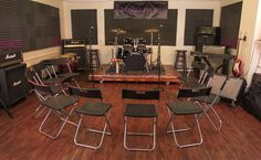 Funkadelic Studios' premier rehearsal space can be transformed into the perfect setting for your event!