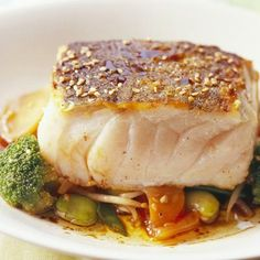 See related links to what you are looking for. Diner Recipes, Fish Recipes, Great Recipes, Cooking Recipes, Healthy Recipes, Healthy Food, Cute Food, Good Food, Yummy Food