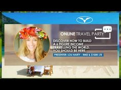 Dreamtrips VIP Travel Club 2017 with Lou Harty RMD WV