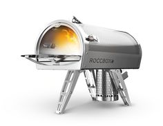 Roccbox: Roccbox is a portable, compact and lightweight stone bake oven. Roccbox is a rock in a box that produces astounding cooking results.  Capable of cooking virtually any type of food, on the move, Roccbox is compact enough to carry, yet large enough to cook a 12 inch pizza in just 90 seconds.Roccbox also enables the baking of breads, cooking of fish, roasting of meats, vegetables, desserts and much, much more.