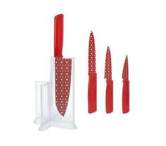 Comment to win a Kuhn Rikon knife set from my blog, Geisha School Dropout!  No strings attached, I'm just trying to get rid of stuff lying around the house.  Drawing a random winner on Friday, 5/11.