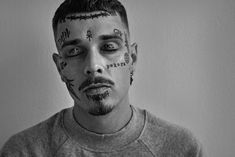 Yzomandias by Benedikt Renc Boy Tattoos, Tabu, Snl, Portfolio, Hot Boys, Makeup Inspiration, Singers, Rapper, Celebrity