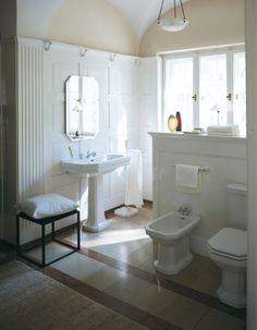 Duravit - Bathroom design series: 1930 - washbasins, toilets, bidets, tubs, and accessories from Duravit.