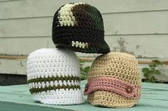 free crochet patterns: to brim or not to brim for baby - crafts ideas - crafts for kids