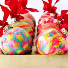 Handpainted Christmas Ornaments, Hand Painted Ornaments, Holiday Ornaments, Holiday Gifts, Holiday Decor, Christmas Time, Christmas Crafts, Christmas Bulbs, Christmas Decorations