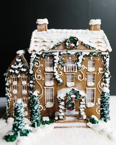 georgian gingerbread house template  7 Best Gingerbread houses wow images | Gingerbread ...
