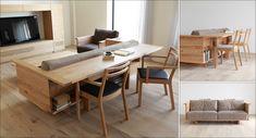 CARAMELLA ライフスタイルの革新。 時代のトレンドに流されることなく、独自のライフスタイルを提案し続けているヒラシマ。 意匠と機能を絶妙なバランスで融合させた個性的な家具が揃っています。