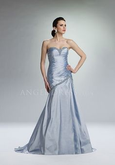 Sweetheart Fit N Flare Asymmetric Waist Taffeta Floor Length Sleeveless Mother of the Bride Dress