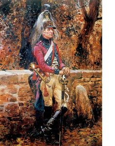Dragoon trumpeter Empire, Military Art, Military History, Dragons, French Army, French Revolution, Napoleonic Wars, Figure Painting, The Past