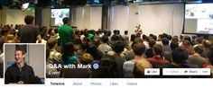 First Public #Facebook Q&A Session with Mark #Zuckerberg   #FacebookNews