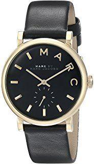 Marc Jacobs Damen Armbanduhr Leder schwarz MBM1269  http://amzn.to/2qcTgoz