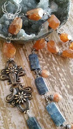 The Sacred Heart meerschaum relic art jewelry by derynmentock