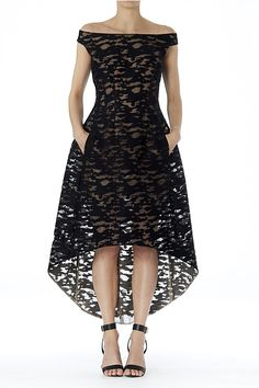 Winter 2015 - Ebony Florentine Lace Princess Gown
