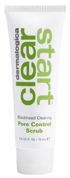 Alternate Image 1 Selected - dermalogica® 'Clear Start™' Blackhead Clearing Pore Control ScrubAlternate Image 1 Selected - dermalogica® 'Clear Start™' Blackhead Clearing Pore Control Scrub Main Image - dermalogica® 'Clear Start™' Blackhead Clearing Pore Control Scrub Details & Care Deep-clean pores and scrub away dull skin with dermalogica Clear Start Blackhead Clearing Pore Control Scrub. It contains purifying bentonite clay, which absorbs excess oil and debris from the skin and helps control shine. Refreshing botanicals reinvigorate skin while helping your skin feel cleaner and fresher than before. Microbeads scrub away clogging dead skin cells and deep-clean pores and blackheads, leaving skin clear and smooth. Gentle botanicals including tea tree, menthol and meadowsweet soothe and cool skin.  How to use: Apply with damp hands to your damp face and throat. Massage into your skin, avoiding the eyes. Rinse thoroughly. 2.5 oz. By dermalogica. Item #1032336 Free Shipping & Returns See