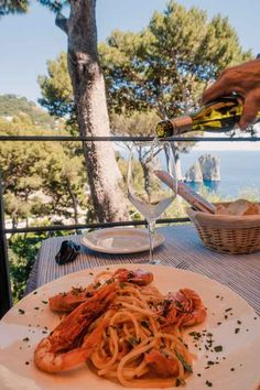 Day Trip to Stunning Capri, Italy | 9 Things You Shouldn't Miss: Lunch with a view | Dana Berez Travel. Spending a day in Capri is a must do on your Amalfi Coast or Positano Itinerary. When traveling to Capri for the day there are 9 things you shouldn't miss. Make your trip to Capri unforgettable experience with these top Capri Travel ideas! Top things to do in Capri Italy!