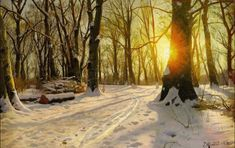 monsted_Winters-Day-in-Charlottenlund_1918.jpg (1024×645)