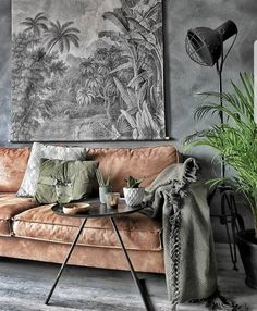 It brings the essence that your project requires. See more clicking in the image. Best Interior Design, Interior Design Living Room, Interior And Exterior, Maron, Design Apartment, Industrial Interiors, Industrial Living, Luxury Sofa, Living Room Inspiration